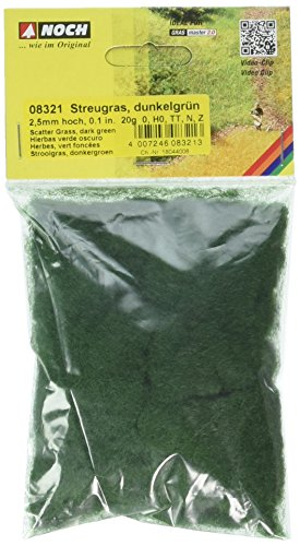 NOCH- Hierbas, Color Verde Oscuro (8321)