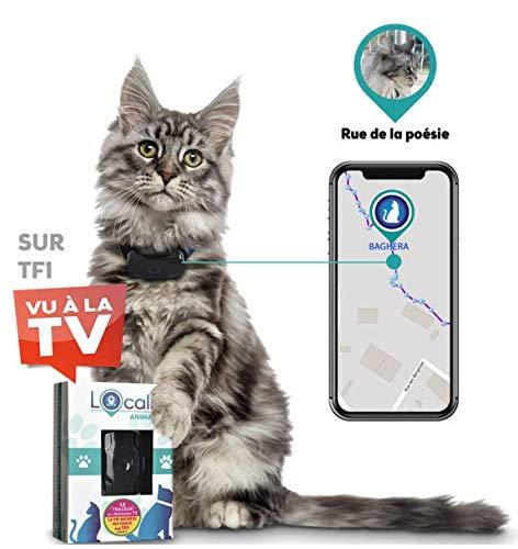 LOCALIZ Lookat Traceur GPS pour Chat et Chien. Le Traceur GPS utilisé dans l'émission la Vie...