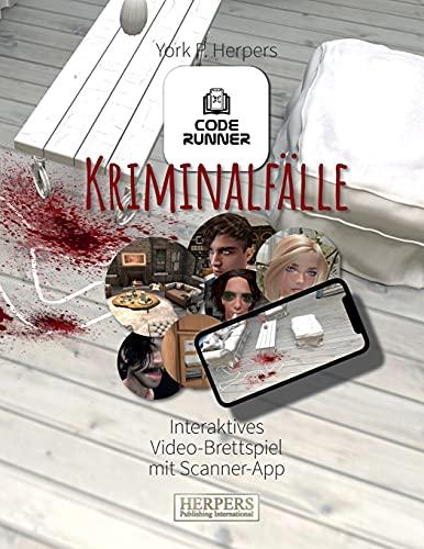 CODE RUNNER   Kriminalfälle: Interaktives Video-Brettspiel mit Scanner-App