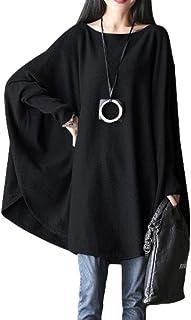 FTCayanz Damen Fledermaus Tunika Top Plus Größe Bluse