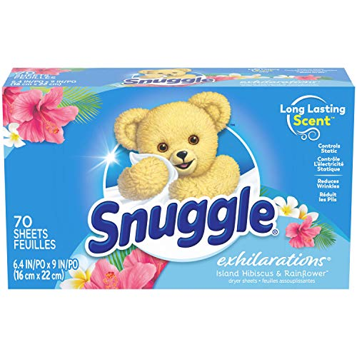Snuggle Exhilarations Fabric Conditioner Dryer Sheets 70 Count Now $1.43 (Was $2.50)