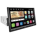 [1 DIN/ 8 Pulgadas] Navegación de Video del automóvil ATOTO S8 Gen2 estándar S8G1A84SD Android en el Tablero, Bluetooth Dual, retrovisor HD con LRV, Android Auto y Carplay Inalámbrico, SCVC y más