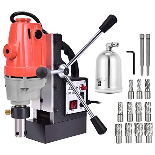Purchase Richo 1100W Magnetic Drill Press with 1.57 Inch (40mm) Boring Diameter MD40 Magnetic Drill ...
