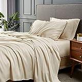 Bedsure - Juego de sábanas de viscosa de bambú