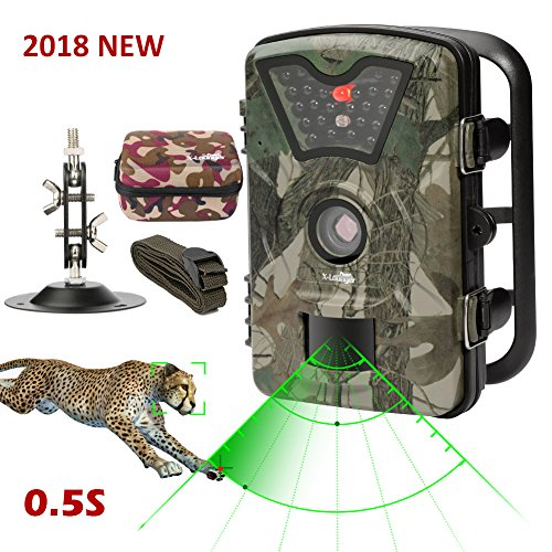 Game Trail Camera 1080P 12MP with Sound Scouting Camera with...
