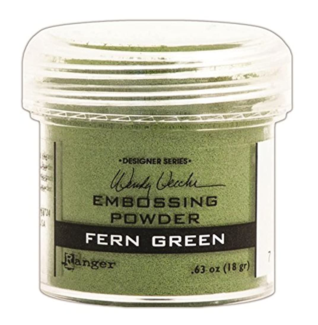 Ranger Wendy Vecchi Embossing Powders, Fern Green, 1-Ounce