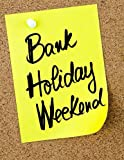 Happy Spring Bank Holiday gift Notebook Journal with Glossy Cover | Wide-Ruled 120 Pages |Perfect gift, Children, Students, Event, Friends , Family Paperback