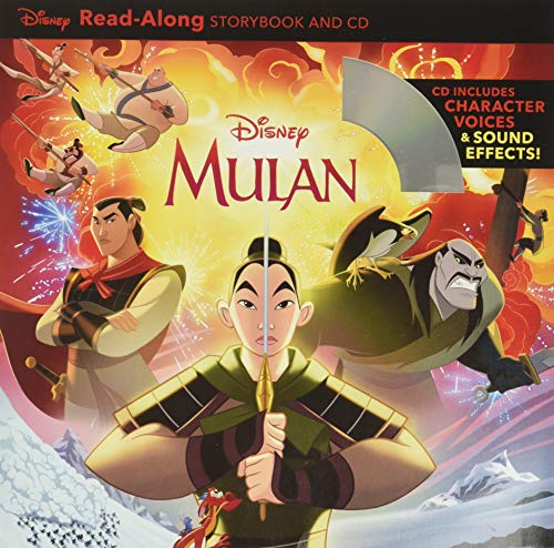 Mulan Read-Along Storybook and CD   Best Gifts for Mulan Fans