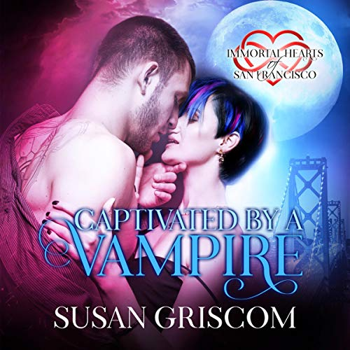 Captivated by a Vampire audiobook cover art
