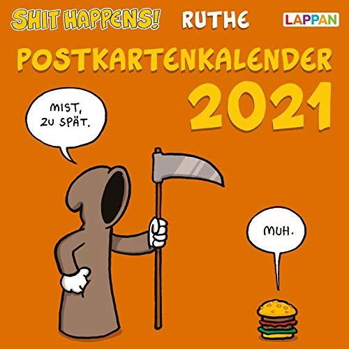 Shit happens! Postkartenkalender 2021