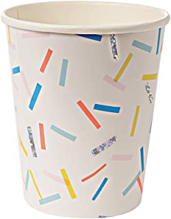 Meri Meri 45-2259 Toot Sweet Sprinkles Party Cups Novelty by Meri Meri