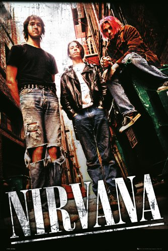 GB Eye, Nirvana, Alley, Maxi Poster, 61x 91,5