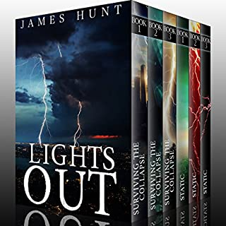 Lights Out Super Boxset: EMP Survival in a Powerless World                   By:                                                                                                                                 James Hunt                               Narrated by:                                                                                                                                 Tia Rider Soresen,                                                                                        MIkela Drew                      Length: 25 hrs and 33 mins     407 ratings     Overall 3.7