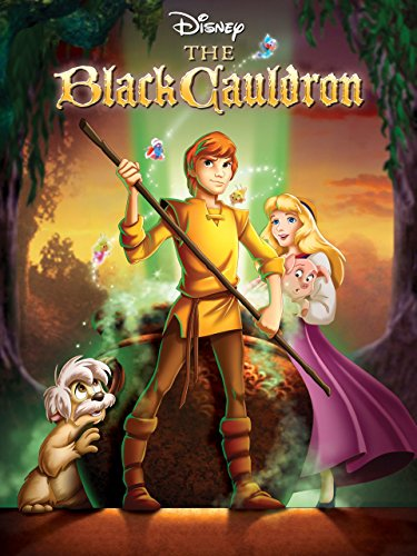 Disneys The Black Cauldron fantasy animated film