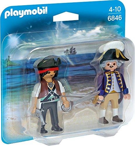 Playmobil 6846 - Duo Pack Pirat und Soldat