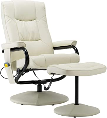 vidaXL Fauteuil de Massage avec Repose Pied Electrique