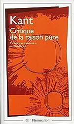 Critique de la raison pure - Traduction, présentation, notes et chronologie par Alain Renaut - Index analytique par Patrick Savidan d'Emmanuel Kant