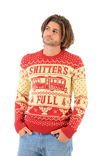National Lampoon Vacation Shitter's Full Ugly Christmas Sweater (4X-Large)