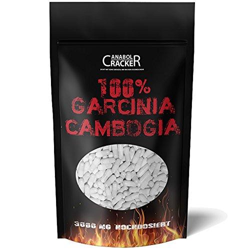 500 Kapseln - Garcinia Cambogia Extrakt, 3000mg pro Tagesdosis, 60{c964196612f3a08463174592a32779bfc71f9b128378b3a5c4c4e51c52695d87} HCA hochdosiert, Reine und Pure Premiumqualität aus Deutschland, Appetitzügler Fettverbrennung Diät Abnehmen