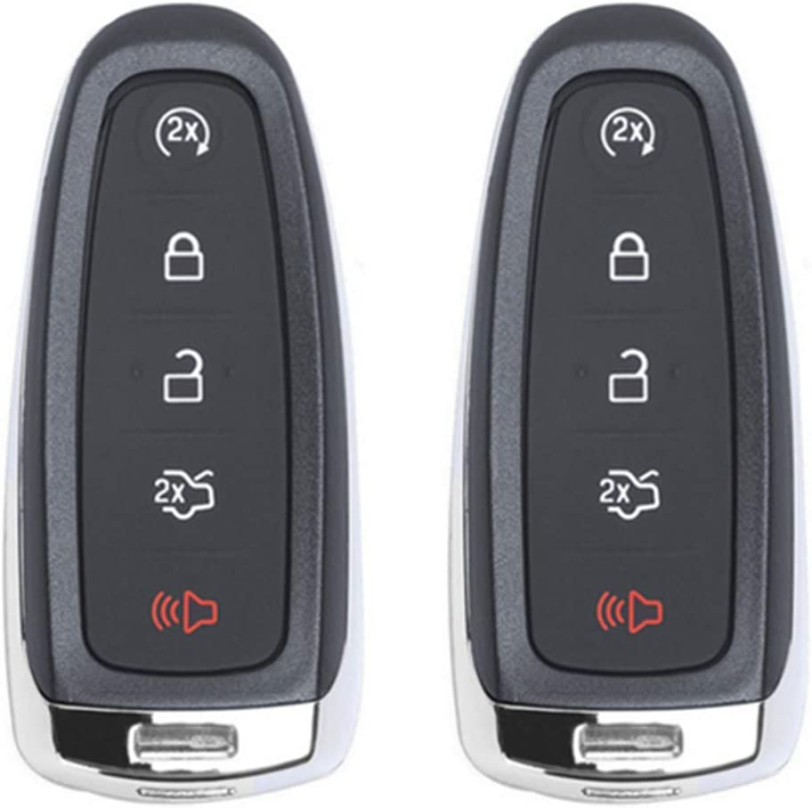 1 Beefunny 315MHz ID46 Chip Replacement Remote Car Key Fob Transmitter 5 Button for Ford M3N5WY8609