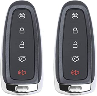 Beefunny Replacement Remote Start Smart Prox Key Fob Transmitter 5B for Ford M3N5WY8609 (2)