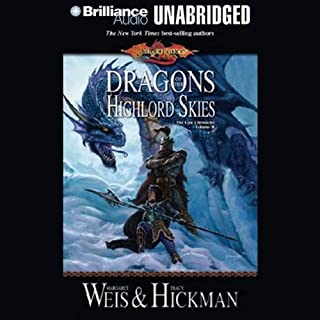 Dragons of the Highlord Skies cover art