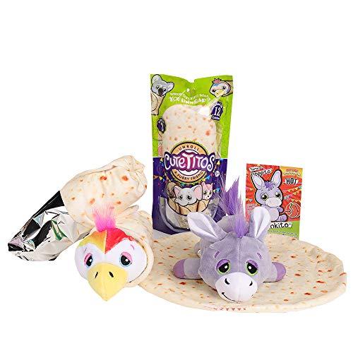 Basic Fun Cutetitos - Surprise Stuffed Animals - Collectible Plush - Series 2 - Great Gift for Girls & Boys