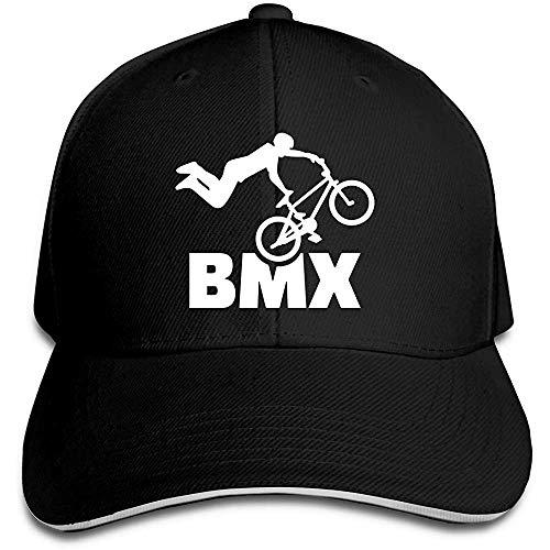 Dale Hill Gorra de béisbol Unisex Paseo en Bicicleta BMX Algodón Trucker Hat Ajustable Vintage Sports Fan Caps Negro