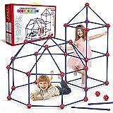 Springflower Fort Building Kit for Kids,STEM Construction Toys, Educational Gift for 4 5 6 7 8 9 10...