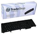 Trade-Shop Premium Laptop-Tastatur/Notebook Keyboard Ersatz Austausch Deutsch QWERTZ für Dell Latitude E5520 E5530 E6220 E6320 E6420 E6520 E6530 E6540 E6600 (Deutsches Tastaturlayout)