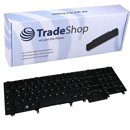 Preisvergleich Produktbild Laptop-Tastatur / Notebook Keyboard Ersatz Austausch Deutsch QWERTZ für Dell Latitude E5520 E5530 E6220 E6320 E6420 E6520 E6530 E6600 (Deutsches Tastaturlayout)