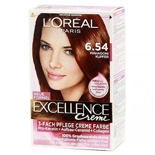 L\'Oréal Paris Excellence crème 6.54 Kupfer Mahagoni dunkelblond