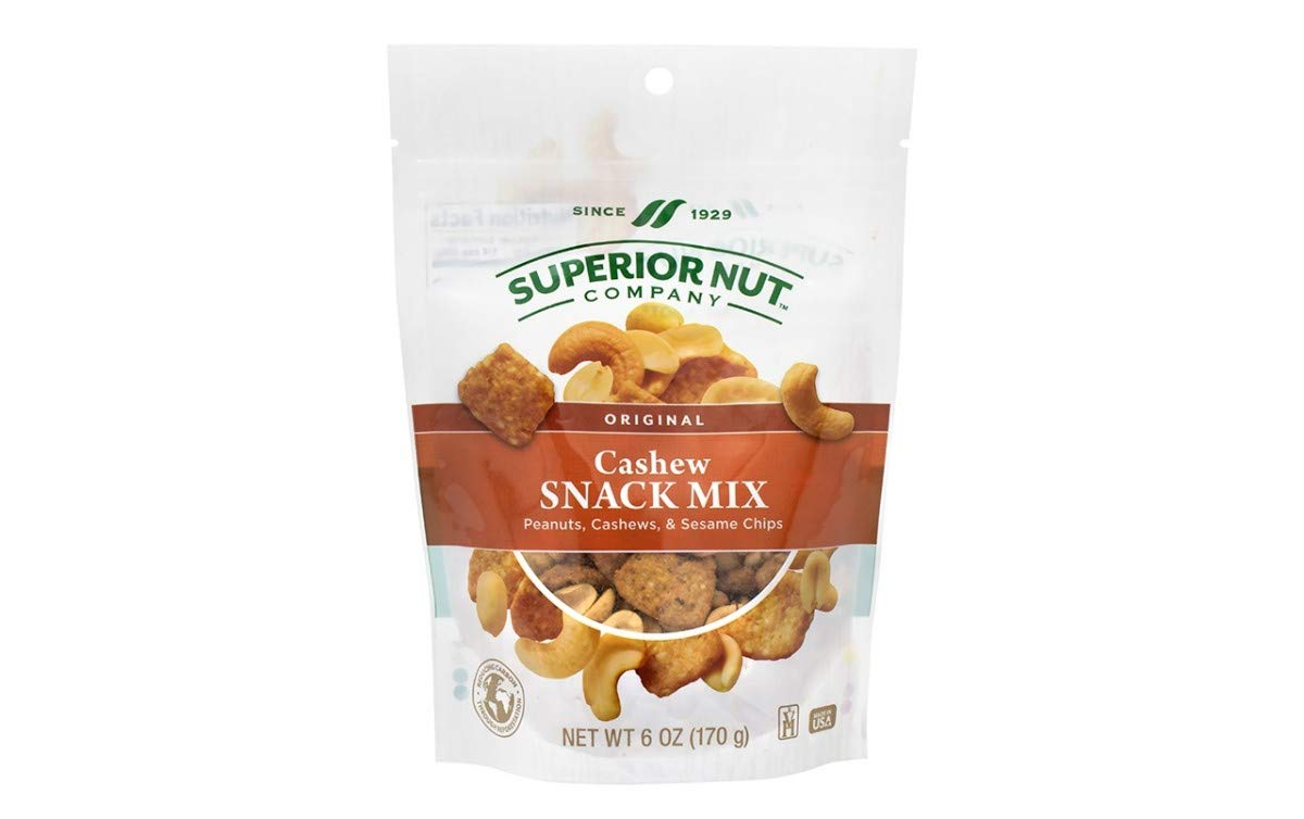 SUPERIOR NUT Original Cashew trend rank Snack At the price of surprise oz Count 6 Mix