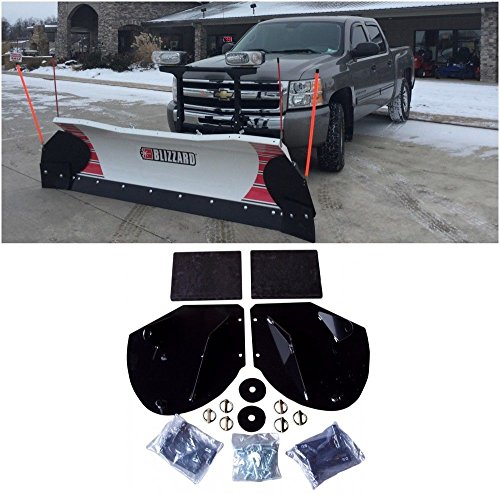 Buy Bargain The ROP Shop Heavy Duty Snow PLOW PRO-Wing Blade Extensions for Boss Snowplow Blade Exte...