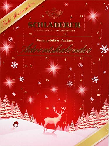 Schladerer Pralinés Adventskalender, 1er Pack (1 x 255 g)