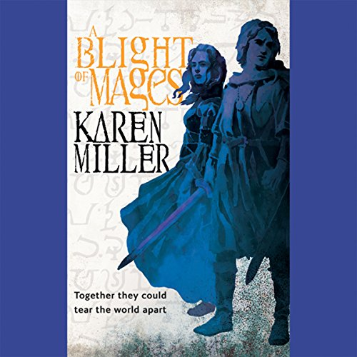A Blight of Mages audiobook cover art
