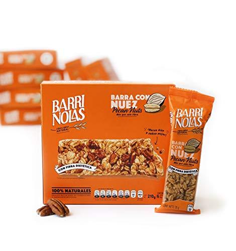 Barras nutritivas de avena con Nuez 100% natural (42 pz)