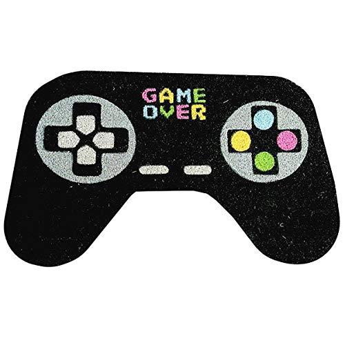 Close Up Game Controller Fußmatte Game Over - für richtige Gamer - 100% Kokosfaser - 75 x 45 cm - Fußabtreter