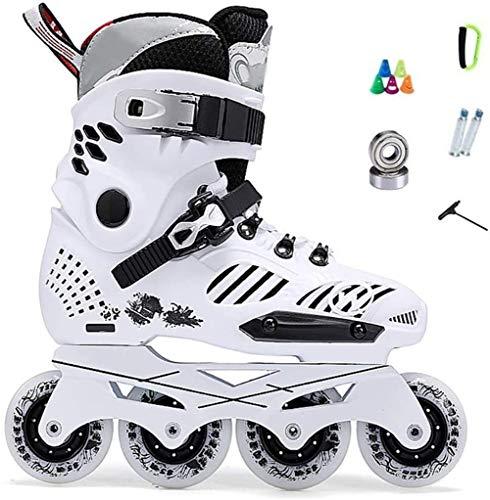 LQ Patines en Línea Inline Skates Profesional Marco Plátano Slalom Adultas Zapatos...