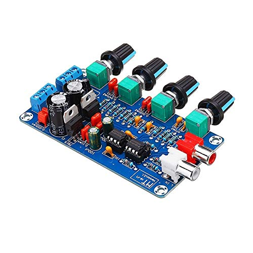 Review HDHUA Modification Accessories Full Function OP-AMP HiFi Amplifier Preamplifier Can Adjust Ou...