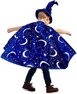 Wizard Costume Cape & Hat Sets