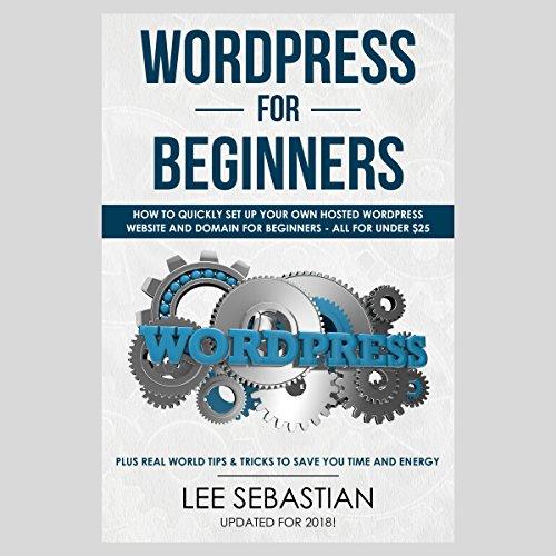 Wordpress for Beginners audiobook cover art