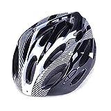 Jiaojie MTB Road Casco de bicicleta ajustable Sport Ciclismo Casco ligero Cascos para adultos hombres mujeres Skateboard