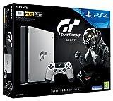 Sony PlayStation 4 Slim (1TB) - GT Sport Special Limited Edition inkl. Spiel Gran Turismo Sport + Dualshock4 Controller GT Sport Edition