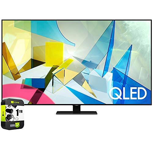 SAMSUNG QN49Q80TAFXZA 49-inch Class Q80T QLED 4K UHD HDR Smart TV (2020) Bundle with 1 Year Extended Warranty