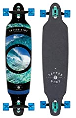 """Riding Style: Carving, Commuter Dimensions: Length: 41.125"""" Width: 9.625"""" Wheelbase: 31.5"""" Components: 10.0"""" Gullwing Charger Trucks 69mm 78a Nineballs ABEC 5 Greaseball Bearings 7 Ply Maple"""