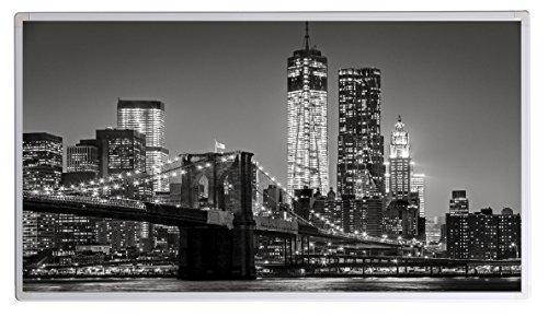19 Bildheizung im Shop Infrarot Heizung 600 Watt New York Skyline (schwarz weiss) Fern Infrarotheizung - 5 Jahre Herstellergarantie- Elektroheizung mit Überhitzungsschutz - Infrarotheizung Heizt bis 18m² Raum - - inkl. Thermostat