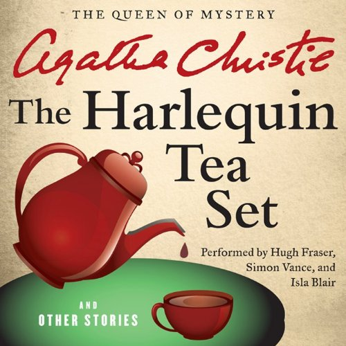 『The Harlequin Tea Set and Other Stories』のカバーアート