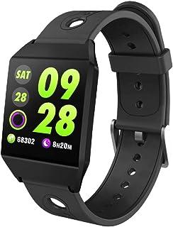 LINGJIA Pulsómetros Nuevo GPS Reloj Inteligente Ip67 Impermeabilizar Fitness Tracker Ritmo Cardíaco Monitor De Presión Arterial Deportes Smart Bracelet Apoyo