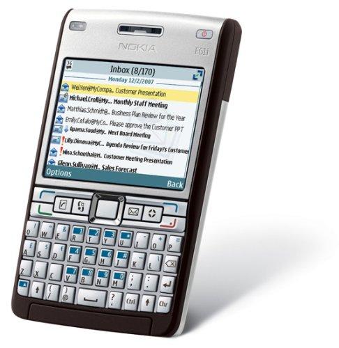 Nokia E61i 7,11 cm (2.8') Argento 1500 mAh